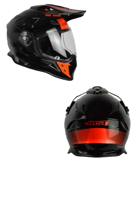 CASCO CROSS CON PANTALLA JUST1 MOD. J34 ADVENTURE